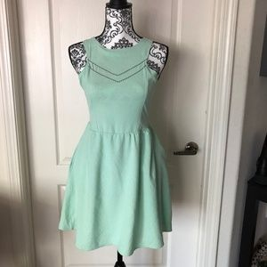 NWT OLIVE&OAK MINT GERTRUDE MINI DRESS / STITCHFIX